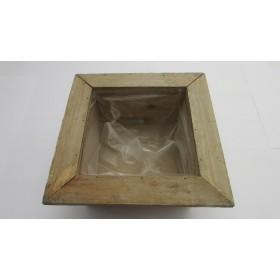Base madera 19x19x9 cm