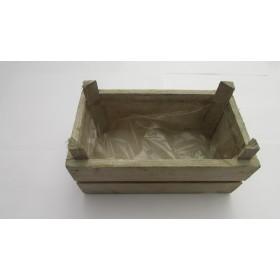 Caja madera 19.3x11x8cm