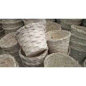 Tiesto bamboo jakarta D15xH13.5cm blanco