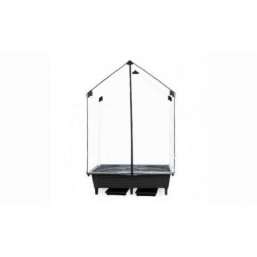 Greenhouse-Plot My Black 120x65x155cm